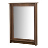 Nexera 27.06-in x 40.38-in Truffle Rectangular Framed Mirror