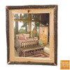 Fireside Lodge Furniture 48-in x 36-in Traditional Rectangular Framed Mirror