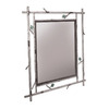 Stone County Ironworks 30-in x 34-in Natural Bark Rectangular Framed Mirror