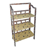 Cheung's 43-in H x 23-in W x 11.5-in D 3-Tier Wood Freestanding Shelving Unit