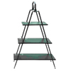 UMA Enterprises 66-in H x 44-in W x 15-in D 3-Tier Wood Freestanding Shelving Unit
