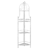 Woodland Imports 68-in H x 18-in W x 13-in D 3-Tier Freestanding Shelving Unit