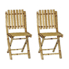 Bamboo 54 Bamboo Folding Beach Chair
