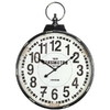 Cooper Classics Parker Distressed Black Wall Clock