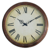 Ashton Sutton 18-in Copper Roman Numeral Copper Wall Clock