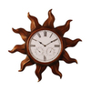 Ashton Sutton 24-in Roman Numeral Sun Copper Wall Clock