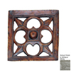 Hickory Manor House 15.5-in W x 15.5-in Gothic Dome Star Tile H Sculptural Wall Art