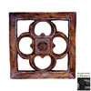 Hickory Manor House 1 15.5-in W x 15.5-in H Gothic Square Tile Decorative Wall Panel