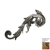 Hickory Manor House 9-in W x 24-in H Embelleshed Scroll Sculptural Wall Art