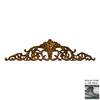 Hickory Manor House 32-in W x 8-in H Open Leaf Acanthus Sculptural Wall Art