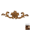 Hickory Manor House 16.5-in W x 5.25-in H Frameless French Sunflower Cartouche Sculptural Wall Art