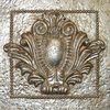 Hickory Manor House 9.5-in W x 9.5-in H Crest Tile Sculptural Wall Art