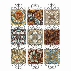 Shop Woodland Imports 10-in W x 44-in H Decor Metal Wall Art at Lowes.