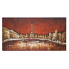 UMA Enterprises 55-in W x 28-in H Cityscape Canvas Wall Art