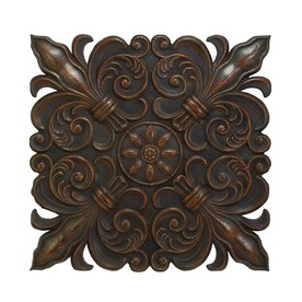 Shop Woodland Imports 47-in W x 47-in H Decor Metal Wall Art at Lowes.