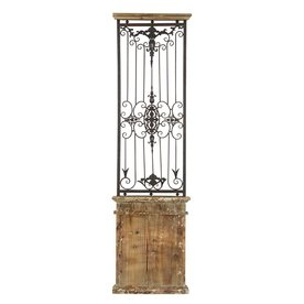 Shop Woodland Imports 20-in W x 71-in H Decor Metal Wall Art at Lowes.