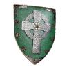 Design Toscano 13-in W x 18-in H Frameless Celtic Warrior's Shield Sculptural Wall Art
