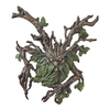 Design Toscano 13.5-in W x 15-in H Frameless Crotchety Crank Tree Ent Sculptural Wall Art