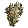 Design Toscano 9-in W x 13-in H Frameless Bashful Wood Sprite Sculptural Wall Art