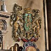 Design Toscano 30.5-in W x 22.5-in H Frameless Heraldic Royal Lions Coat Of Arms Sculptural Wall Art