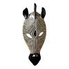 Design Toscano Tribal Style Zebra Mask 5.5-in W x 14.5-in H Frameless Resin Sculptural Wall Art