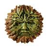 Design Toscano Somerset Green Man 8.5-in W x 8.5-in H Frameless Resin Sculptural Wall Art