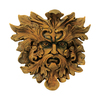 Design Toscano 12-in W x 11-in H Green Man Sculpture