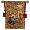 Design Toscano 51-in W x 79-in H Holiday Wall Tapestries Wall Art