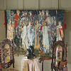 Design Toscano 76-in W x 54-in H People Wall Tapestries Wall Art