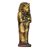 Design Toscano 4-in W x 12-in H Frameless Icons Of Ancient Egypt- King Tut Sculptural Wall Art