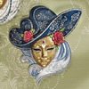 Design Toscano 10-in W x 10.5-in H Novelty Hand-Painted Wall Art