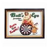 RAM Gameroom Products 21-in W x 16.5-in H Novelty Framed Art Wall Art
