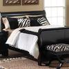 Leggett & Platt 11-Piece Black Queen Comforter Set