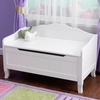 KidKraft Nantucket White Rectangular Toy Box