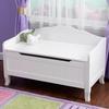 KidKraft Nantucket White Rectangular Toy Box