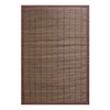 Anji Mountain Bamboo Rugs 6-ft x 9-ft Rectangular Multicolor Border Area Rug