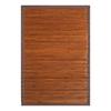 Anji Mountain Chocolate Rectangular Indoor Woven Oriental Area Rug (Common: 2 x 3; Actual: 24-in W x 36-in L)