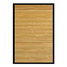 Anji Mountain Natural Rectangular Indoor Woven Area Rug (Common: 5 x 8; Actual: 60-in W x 96-in L)