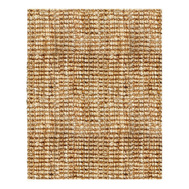 Anji Mountain Jute 10-ft x 8-ft Rectangular Solid Area Rug