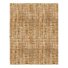 Anji Mountain Jute 144-in x 108-in Rectangular Solid Area Rug