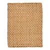 Anji Mountain Jute 5-ft x 8-ft Rectangular Tan Solid Area Rug