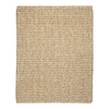 Anji Mountain Jute Rectangular Solid Wool Area Rug (Common: 5-ft x 8-ft; Actual: 5-ft x 8-ft)