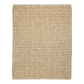 Anji Mountain Jute Rectangular Solid Wool Area Rug (Common: 9-ft x 12-ft; Actual: 9-ft x 12-ft)
