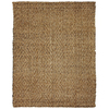 Anji Mountain Jute 4-ft x 6-ft Rectangular Multicolor Solid Area Rug