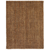 Anji Mountain Jute 5-ft x 8-ft Rectangular Multicolor Solid Area Rug