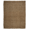 Anji Mountain Jute 4-ft x 6-ft Rectangular Multicolor Transitional Area Rug