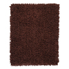 Anji Mountain Silky Shag 4-ft x 6-ft Rectangular Tan Solid Area Rug