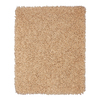 Anji Mountain Silky Shag 8-ft x 10-ft Rectangular Beige Solid Area Rug