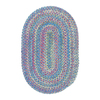 Colonial Mills Botanical Isle 24-in x 36-in Oval Multicolor Transitional Accent Rug