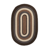 Colonial Mills Brooklyn Oval Multicolor Transitional Accent Rug (Common: 2-ft x 4-ft; Actual: 24-in x 48-in)